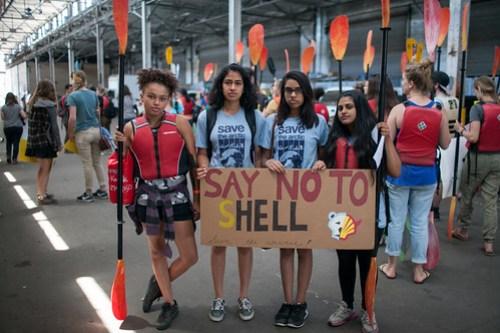 Shell No Kayak Rally - San Francisco