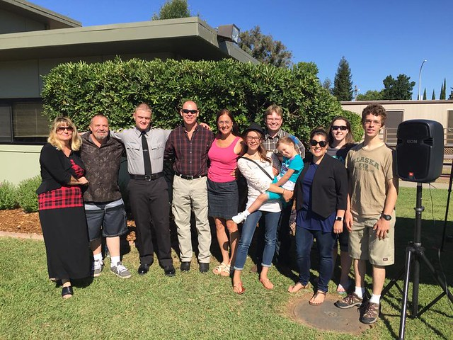 The Whole Family at Bobby's Open House