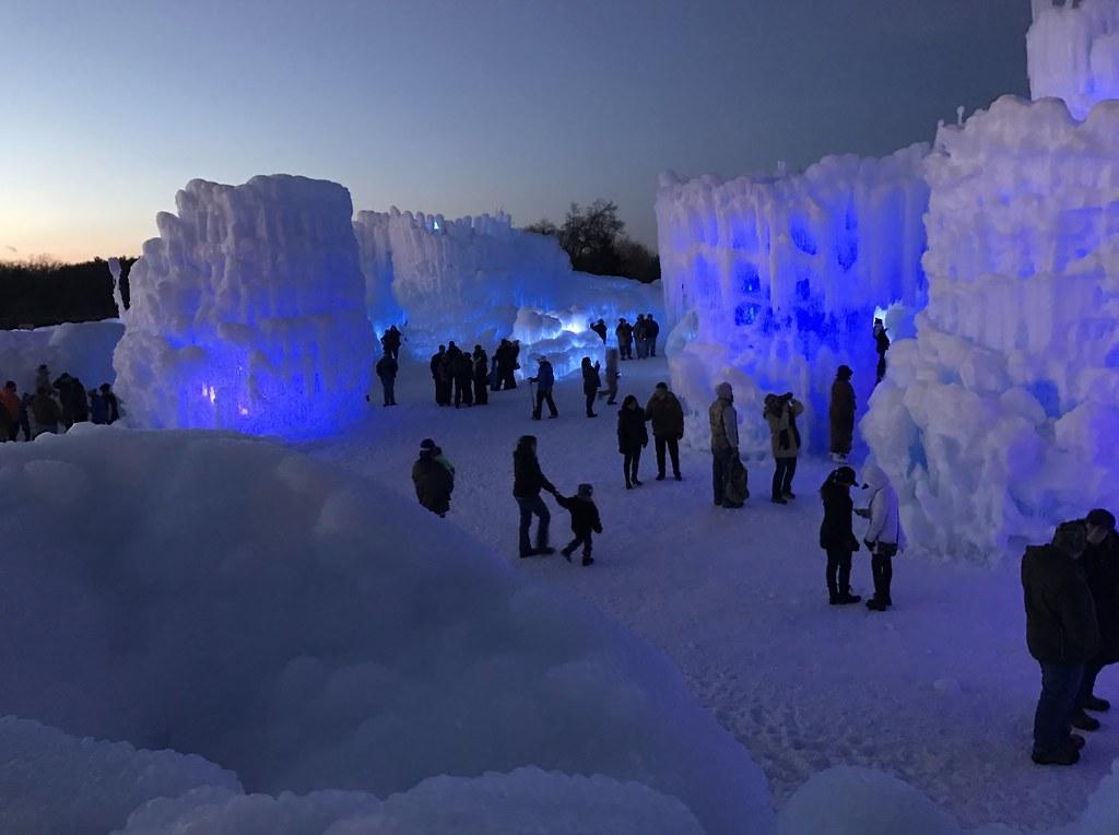 ice castle wi dells