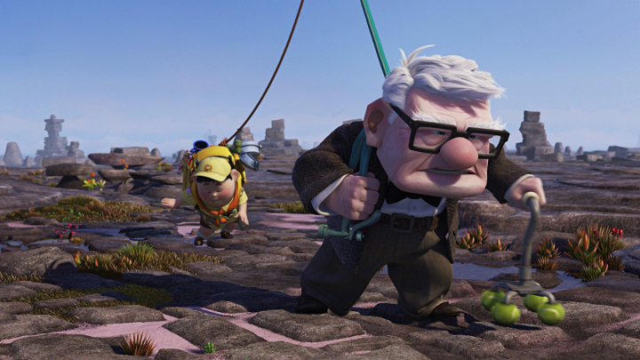 Pixar-perjantai: UP - Disnerd dreams