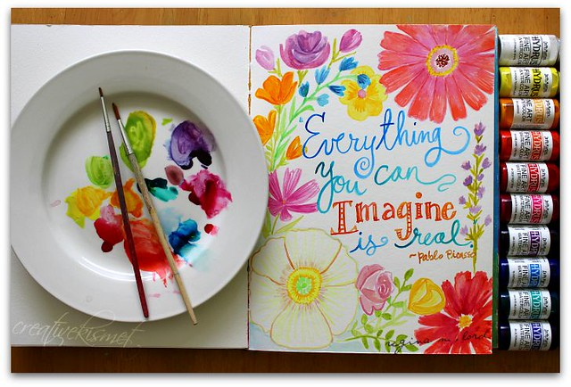 Watercolor art by Regina Lord