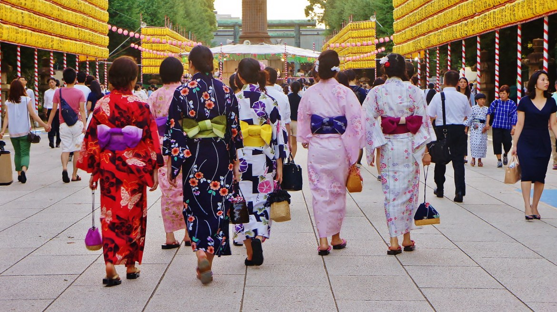 Mitama Matsuri (Festival) at Kudanshita