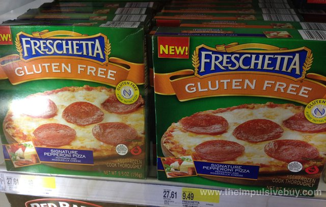 Freschetta Gluten Free Single Serving Signature Pepperoni PIzza