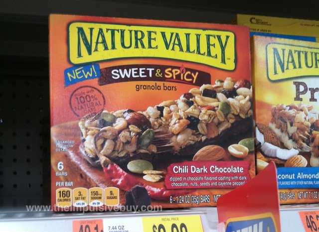 Nature Valley Chili Dark Chocolate Sweet & Spicy Granola Bars
