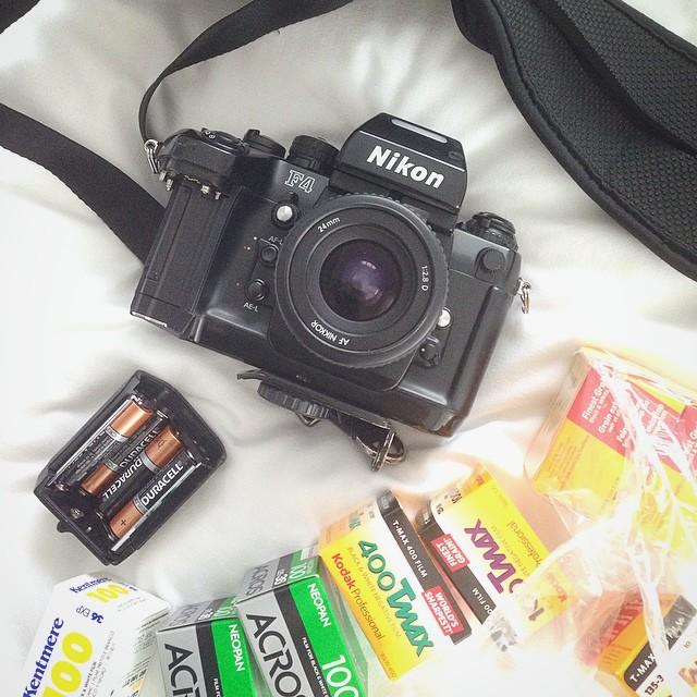 Nikon F4 + New Batteries :)