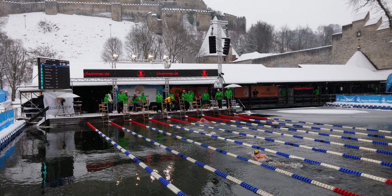 Storie di Nuoto: gli uomini che nuotano fra i ghiacci