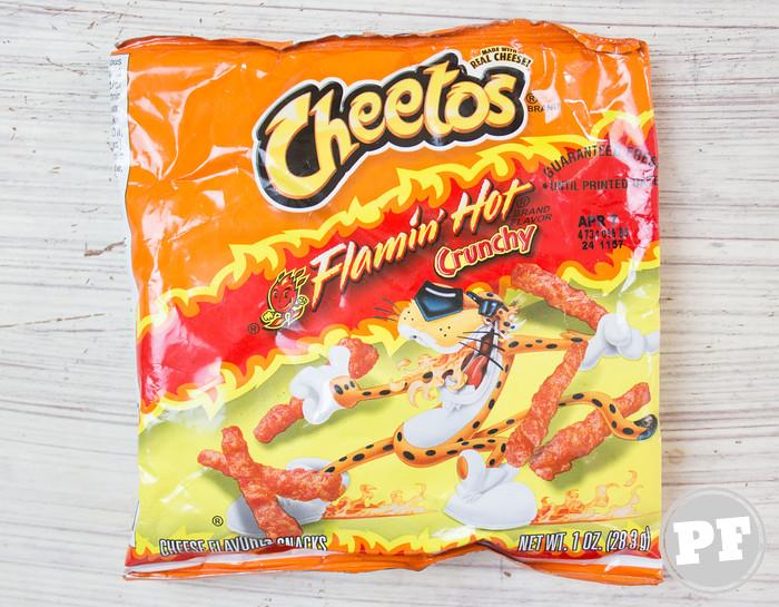PraComer Coreana e Cheetos Picante