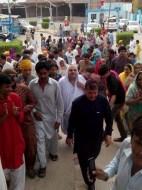 Welcome Sain Sadhram Sahib at Pooj Raherki Sahib (21)