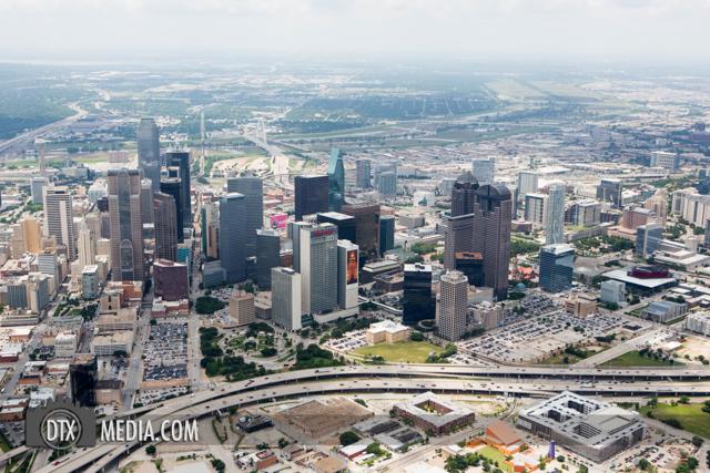 Dallas Aerial Skyline Photographer