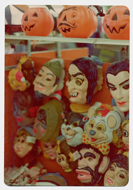 Halloween masks of the 1970s