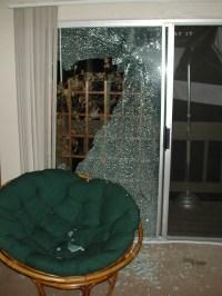 My broken patio door   Flickr - Photo Sharing!