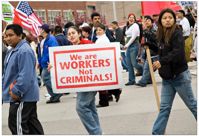 We Are workers not criminals
