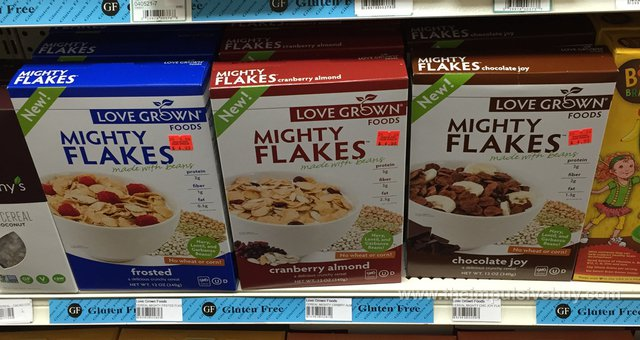 Love Grown Foods Mighty Flakes (Frosted, Cranberry Almond, and Chocolate Joy)