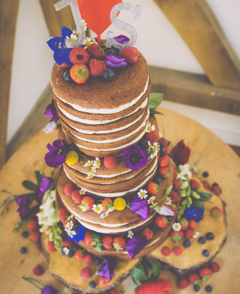 Colour-bomb, sparkle motion, foodie wedding on @offbeatbride