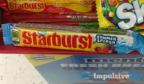 Starburst Summer Splash Fruit Chews