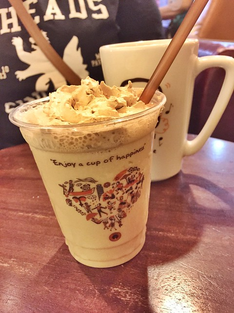 Coconut Mocha Frappe at J. Co