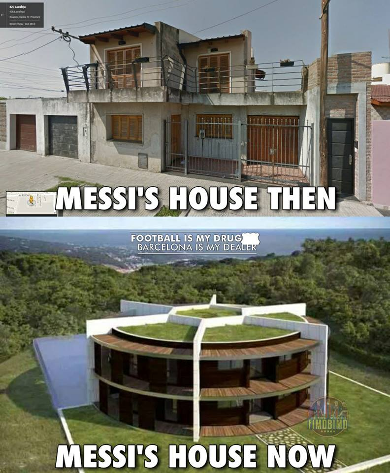 Messi House Inside : messi, house, inside, Lionel, Messi, House, Address, Barcelona