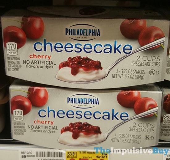 Philadelphia Cherry Cheesecake Cups