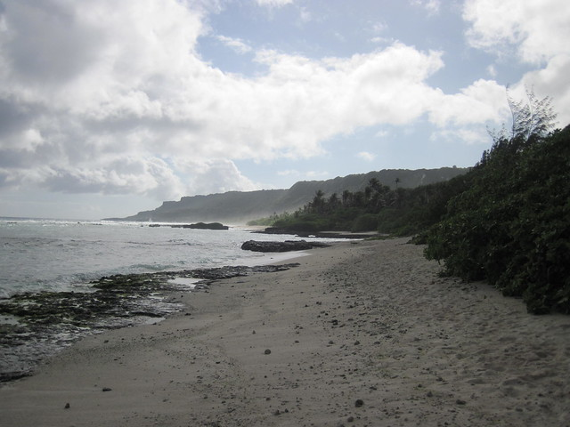 Picture from Tarague Beach, Guam