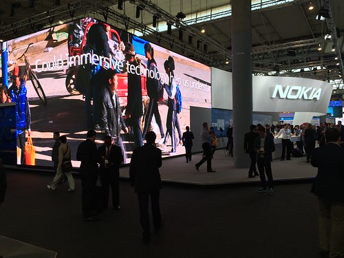#MWC15 Nokia Stand