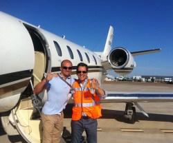 Este vuelo salv una vida aviaci n digital - Terminal ejecutiva barajas ...