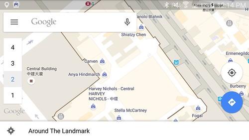 บางอาคาร มี In-door map ด้วย