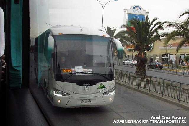 Yanguas - Rancagua - Irizar Century / Mercedes Benz (DJKL46)