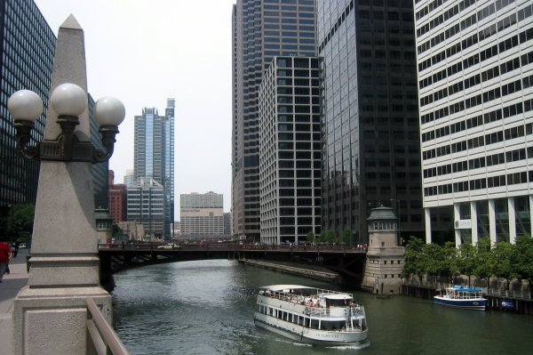 Chicago River - Jackson Boulevard Bridge