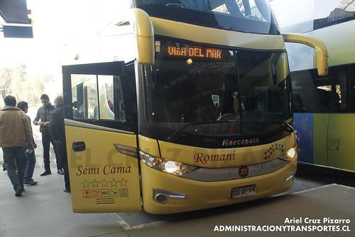 Romani - Santiago - Marcopolo Paradiso 1800 DD / Scania (DSDF54)