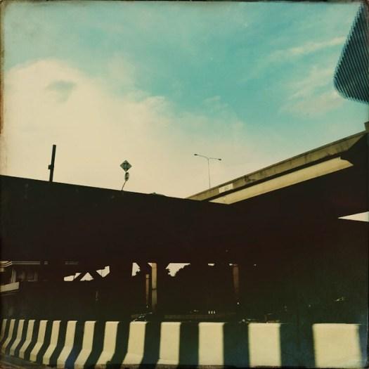 a vaguely #ballardian moment #overpass #concrete #expressway