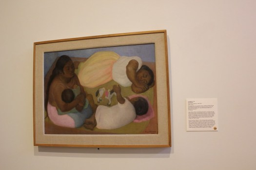 'The Siesta' by Diego Rivera, San Antonio Museum of Art
