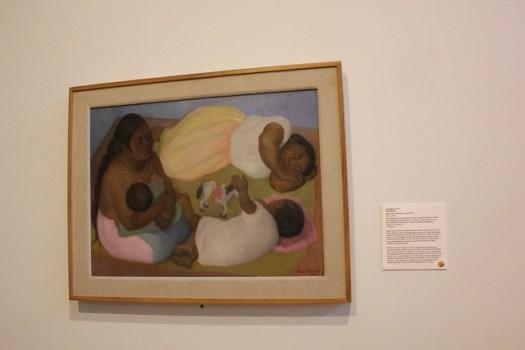 'The Siesta' by Diego Rivera, San Antonio Museum of Art