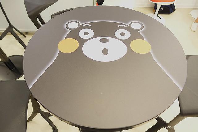 kuma cafe,下午茶,九州,台北,熊本熊,美食 @VIVIYU小世界