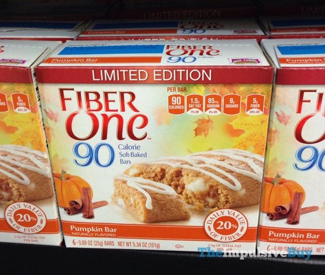 Fiber One Limited Edition 90 Calorie Pumpkin Bar