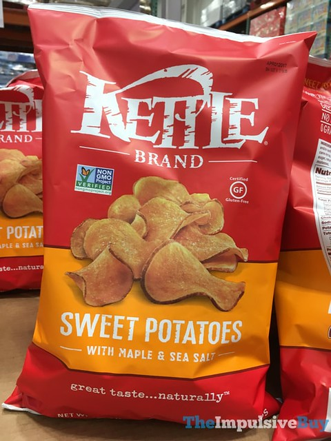 Kettle Brand Sweet Potato Chips with Maple & Sea Salt