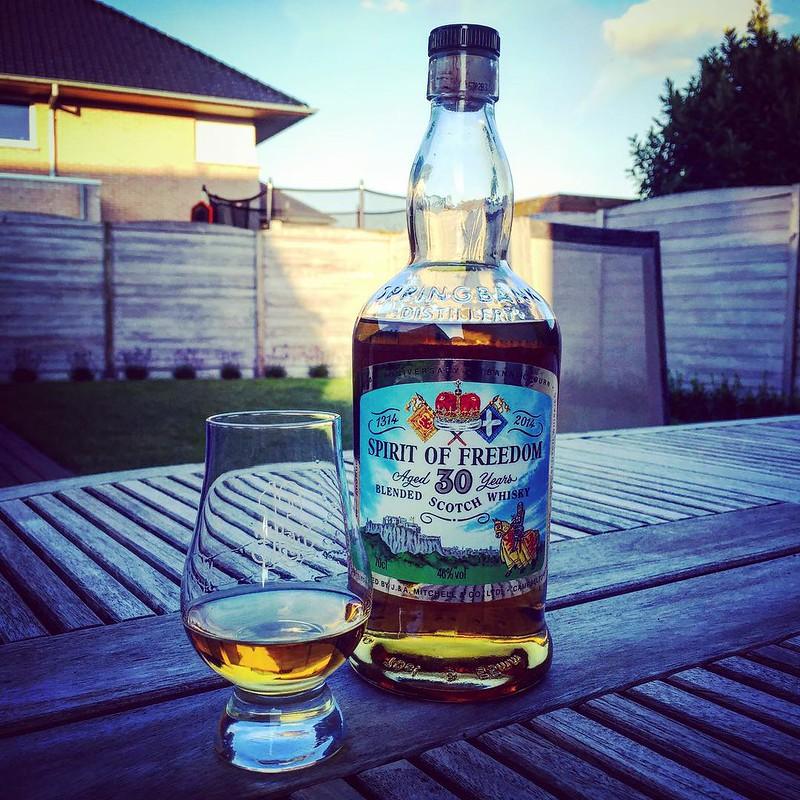 Deze Spirit of Freedom is een van de lekkerste whisky's die ik al mocht proeven, en ja ... het is een blend!