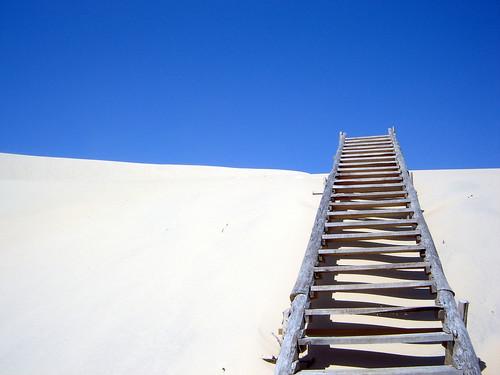 Escada para o paraiso perdido