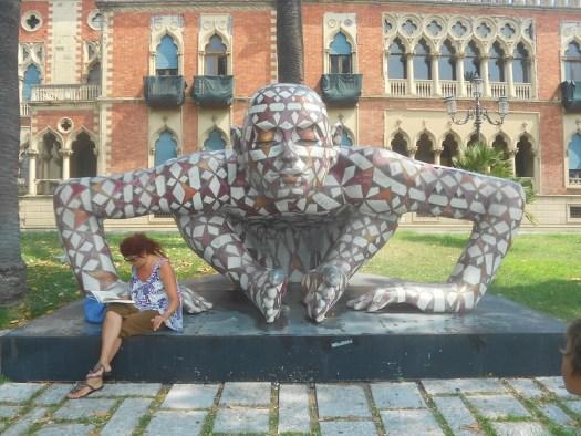 Rabarama, Co-stell-azione (2002), villa Nesci, Reggio Calabria.