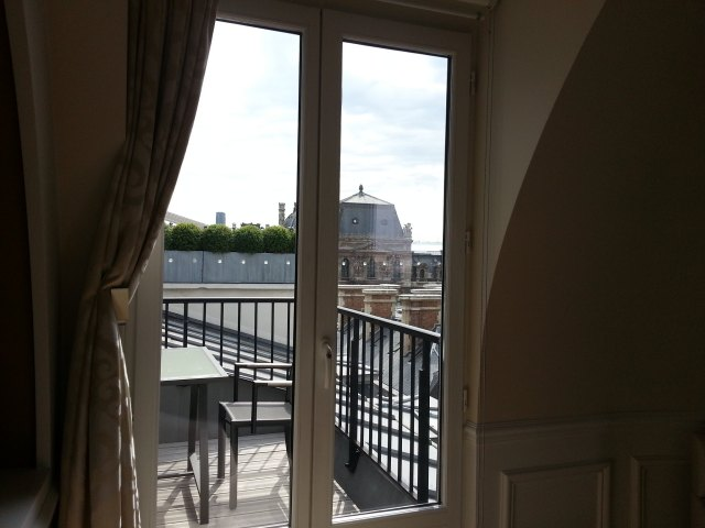 Terrace : Grand Hotel du Palais Royal