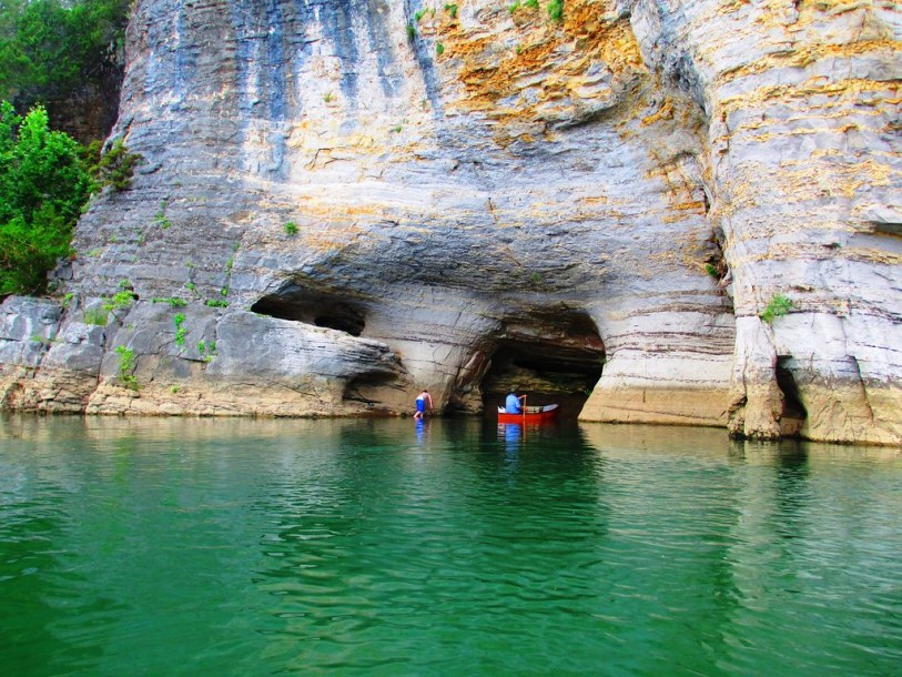 Skull Bluff - Canoe Trip on the Buffalo National River, Arkansas June 12 & 13, 2015