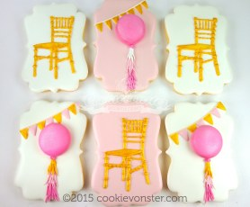 Chiavari Chairs and Party Balloons