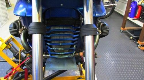 Fork Dust Caps on Fork Tubes