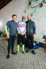 After finishing the Silk Route Super Brevet