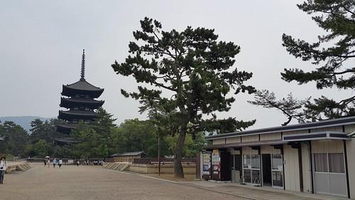 ภายในวัด Kōfuku-ji