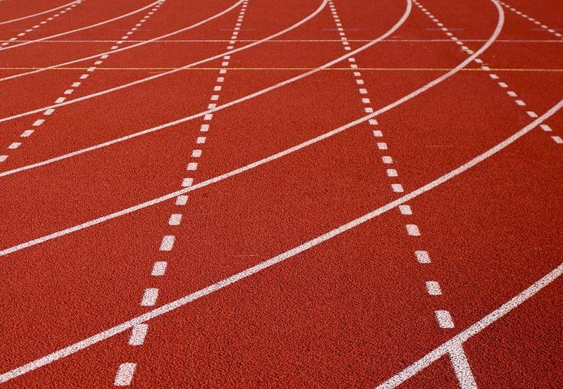 Imagen gratis de una pista de atletismo