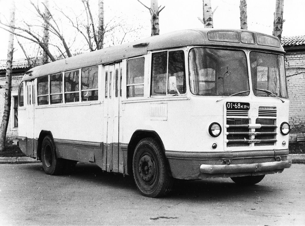 ЗИЛ-158 в Красноярске, 1980-е годы