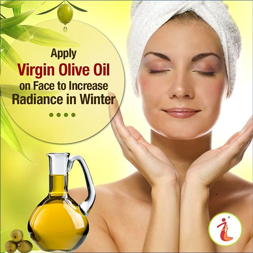 Olive-oil-increase-face-radiance-in-winter