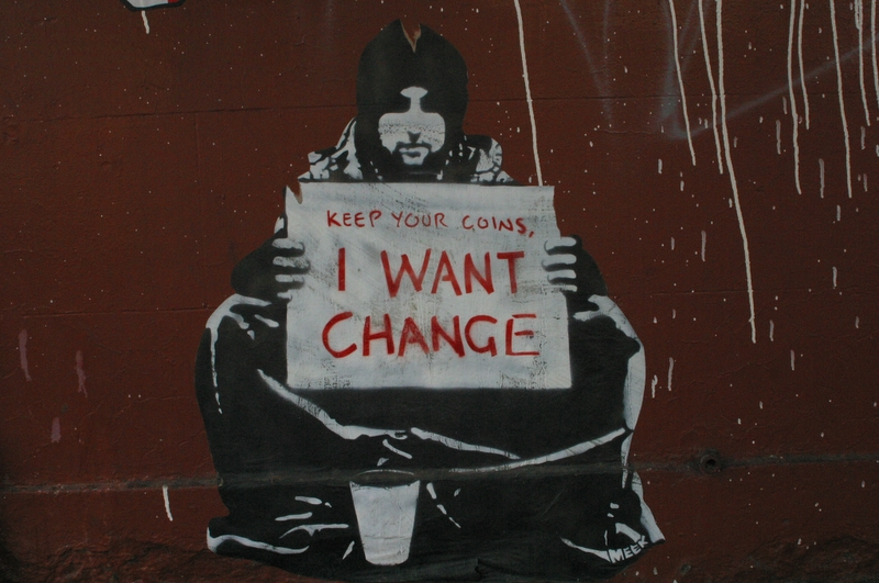 Keep Your Coins (Graffiti #18)