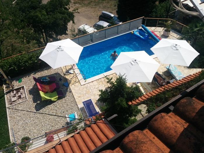 Apartmani Lucija_Pool