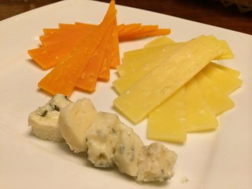 チーズの盛り合わせ@Maro Sun (マロサン)